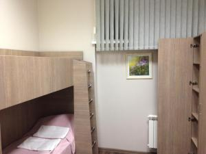A bunk bed or bunk beds in a room at Mini-hotel Gorbunki