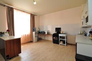 A kitchen or kitchenette at Беседка у моря