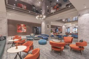 The lounge or bar area at President - IHCL SeleQtions