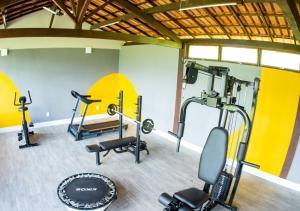 Academia e/ou comodidades em Hotel Fazenda Horizonte Belo
