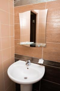 Ванная комната в Azalya Hotel