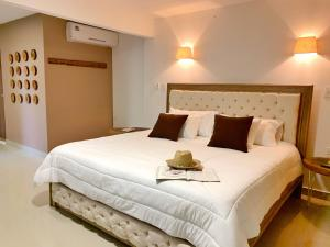 Cama o camas de una habitación en La Casablanca Tayrona House