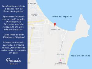 A bird's-eye view of Parada Beach Apart Hotel