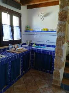 A kitchen or kitchenette at Apartment with one bedroom in Palermo with WiFi