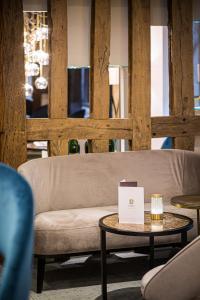 Гостиная зона в Hotel Relais Saint Jean Troyes
