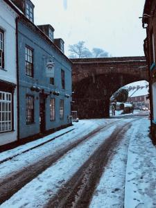 Severn Valley Guest House during the winter