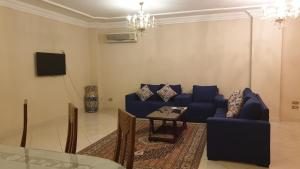 A seating area at Chelay Apartments