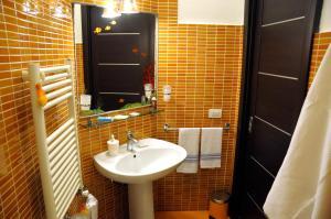 A bathroom at B&B Galatea