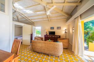 O saguão ou recepção de Piscadera Bay Resort 91