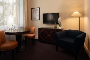 Część wypoczynkowa w obiekcie Modrzewie Park Hotel & SPA