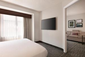 A television and/or entertainment center at Residence Inn by Marriott Baltimore Downtown/ Inner Harbor