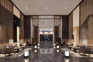 Crowne Plaza Chongqing New North Zoneにあるレストランまたは飲食店