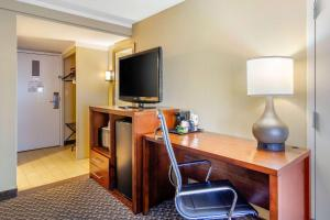 A television and/or entertainment center at Comfort Inn Denver Central