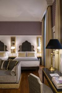 Letto o letti in una camera di IL Tornabuoni Hotel