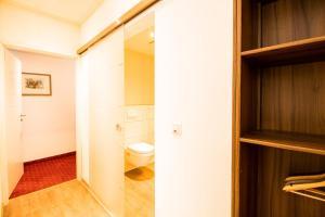 Ein Badezimmer in der Unterkunft Hotel Stadtschänke