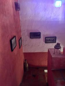 Ein Badezimmer in der Unterkunft El Angel Azul Hacienda