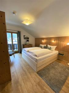 Ein Bett oder Betten in einem Zimmer der Unterkunft Alpvital