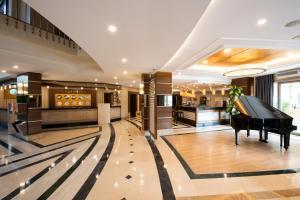 De lobby of receptie bij Side Star Park Hotel-All Inclusive