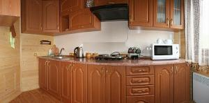 A kitchen or kitchenette at Polonyna