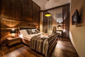 Lova arba lovos apgyvendinimo įstaigoje Topolowa Residence