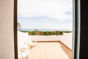 Un balcón o terraza de Hostal Santi
