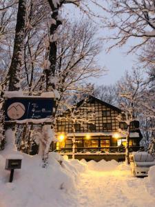 冬のゲストハウスジャパン白馬 の様子
