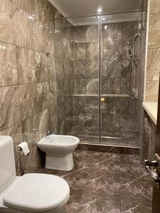 Ванная комната в Бутик-отель Вороново Клубъ