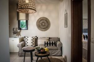 A seating area at Creta Blue Boutique Hotel