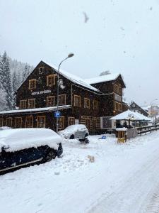 Hotel Hvezda during the winter