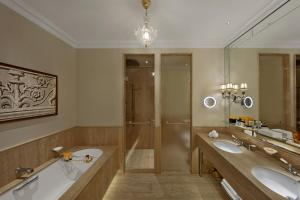 A bathroom at The St. Regis Rome