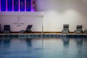 The swimming pool at or near Cricklade House Hotel, Sure Hotel Collection by Best Western