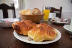 Opciones de desayuno para los huéspedes de Cabañas Baden Baden