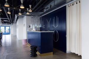 The lobby or reception area at LYURO 東京清澄 by THE SHARE HOTELS