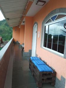 A balcony or terrace at Conjugado aconchegante
