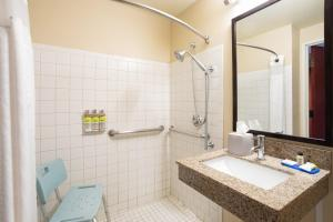 A bathroom at Holiday Inn Express Hotel & Suites Littleton