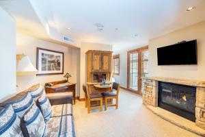 A television and/or entertainment center at Inn at Lost Creek