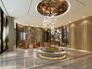 The lobby or reception area at Fraser Suites Hanoi