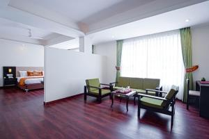A seating area at The Fern Denzong Hotel & Spa Gangtok, Sikkim