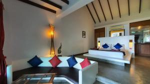 A seating area at Andalay Boutique Resort