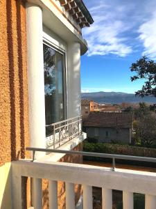 A balcony or terrace at Villa Elisa M