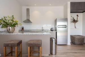 A cozinha ou cozinha compacta de The Beach House