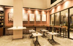 A restaurant or other place to eat at Stanley Wahid Hasyim Jakarta