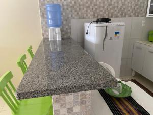 A kitchen or kitchenette at Casa Bem Estar Palestina