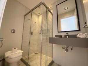 A bathroom at BALUARTE POUSADA
