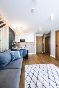 A seating area at Aparthotel Prestige