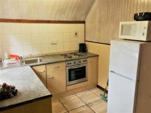 A kitchen or kitchenette at Zur Alten Mine