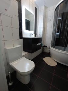 A bathroom at Baikal Loft Studio