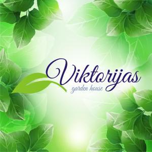 Naktsmītnes Garden house Viktorijas logotips vai norāde