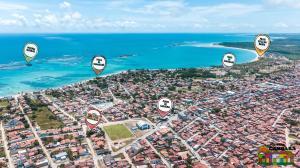 Uma vista aérea de Pousada Cambará