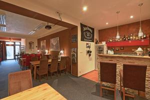 Lounge nebo bar v ubytování Pension Renata
